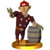 SSB3DS Alfonzo Trophy Model.png