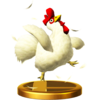 SSBfWU Cucco Trophy Model.png