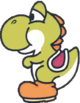 Official artwork of the Yoshi Doll