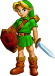 File:OoT Child Link Artwork.png