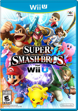 SSB4 Wii U Box Art.png