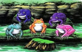 Fabulous Five Froggish Tenors - Zelda Wiki