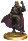 SSBB Ganondorf Trophy Model.png