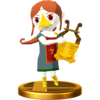 SSBfWU Medli Trophy Model.png