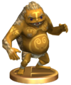SSBB Goron Trophy Model.png