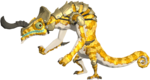 BotW Golden Lizalfos Model.png