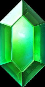 TLoZ Series Green Rupee Artwork.png
