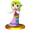 SSB3DS Zelda (Spirit Tracks) Trophy Model.png