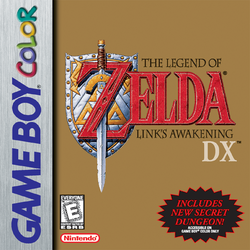 Link's Awakening DX USA cover art