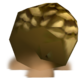 Particles used to create clouds of dirt emitted by the Hot Rodder Goron