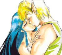 Rune, during his affair with Princess Zelda.