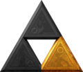 TLoZ Series Triforce of Courage Artwork.png
