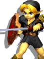 SSBM Young Link Alternative Costume 4.png