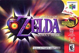 Majora's Mask US Boxart