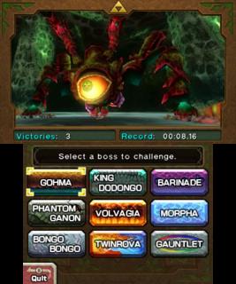 Boss Challenge Zelda Wiki