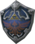 The Hylian crest on the Hylian Shield
