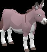 BotW Donkey Model.png