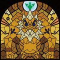 TWW Darunia Stained Glass Artwork.png