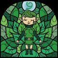 TWW Saria Stained Glass Artwork.png