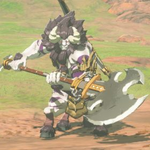 BotW Hyrule Compendium Silver Lynel.png