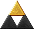 TLoZ Series Triforce of Power Artwork.png