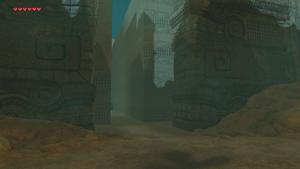 BotW South Lomei Labyrinth Entrance.png