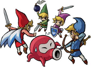 FS Links Fighting Octorok Artwork.png