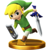 SSBfWU Toon Link Trophy Model.png