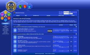 HTLOZ II Current Forum Layout