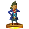 SSB3DS Linebeck Trophy Model.png