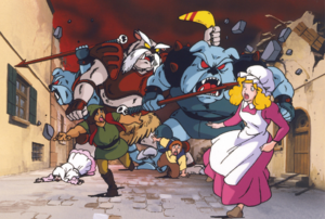 TAoL Enemies Attacking Town Artwork.png