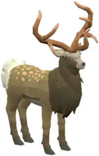 BotW Mountain Buck Model.png