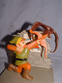 TLoZ Link Shooting an Arrow to a Red Keese Figure.png