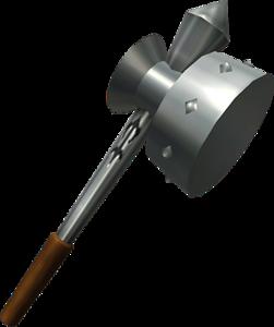 OoT3D Megaton Hammer Artwork.png