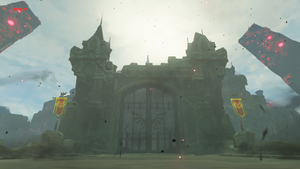 Breath Of The Wild Hyrule Castle Map Maping Resources
