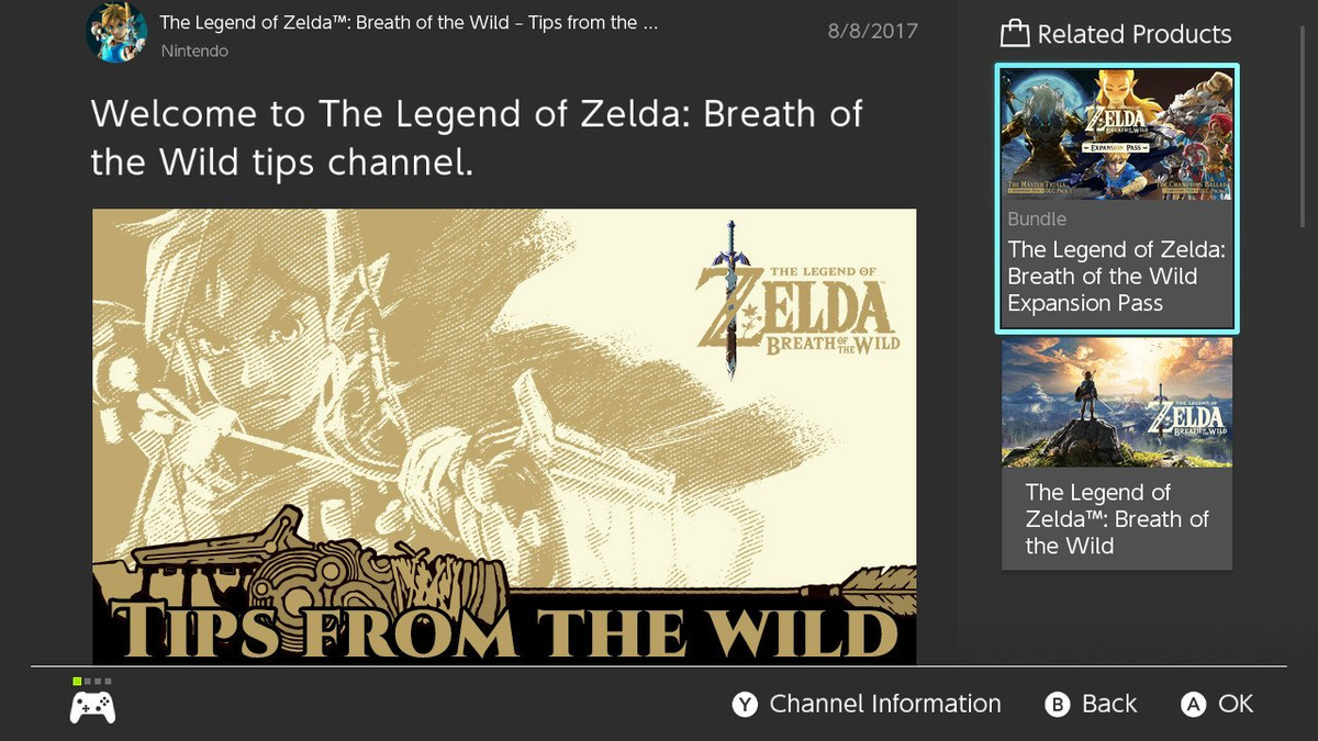 Tips from the Wild - Zelda Wiki