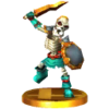 SSB3DS Stalfos Trophy Model.png