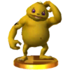 SSB3DS Gorons Trophy Model.png