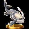 SSBfWU Levias Trophy Model.png
