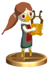 SSBB Medli Trophy Model.png