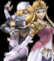 SSBB Zelda Sheik Alternative Costume 3.png