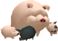 TWW Wild Pig Figurine Model.png