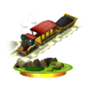 SSB3DS Spirit Train Trophy Model.png