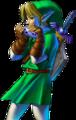 OoT Link Ocarina Artwork 2.png