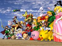 File:SSBM Characters.png