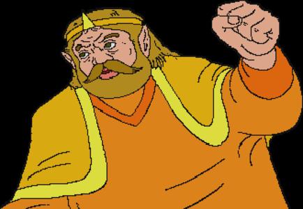 TWoG King Harkinian Cutscene Sprite.png