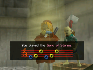 Song of Storms - Zelda Wiki