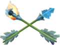 TWW Fire and Ice Arrows Model.png