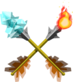 TWW Fire and Ice Arrows Render.png
