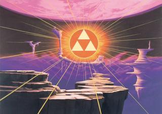 ALttP Triforce Sacred Realm Artwork.png